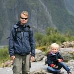 die Jungs auf dem Weg zum Fox Glacier